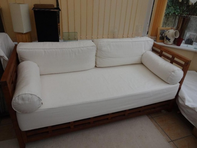 Wood Frame Couch Ethan Allen