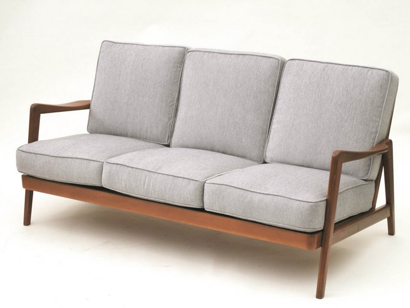 Wood Frame Couch