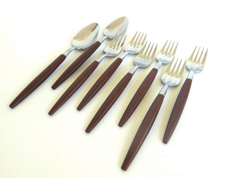 Wood Handle Flatware