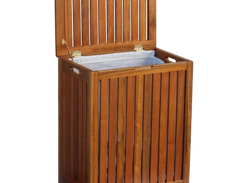 Wood Laundry Hamper