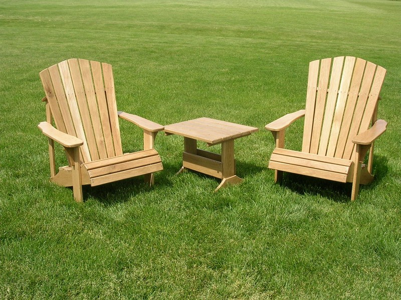 Wood Lawn Chairs Plans