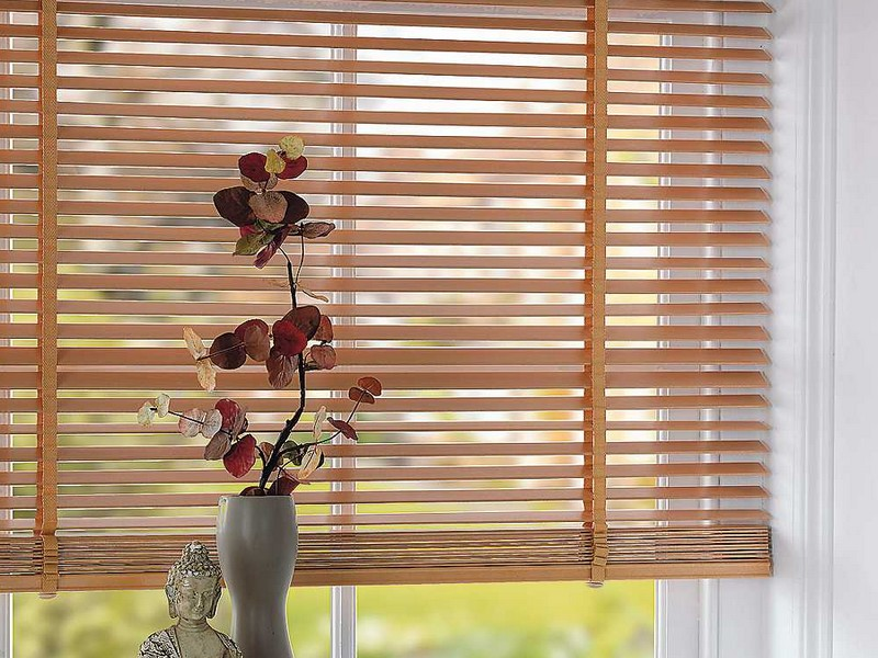Wood Slat Blinds
