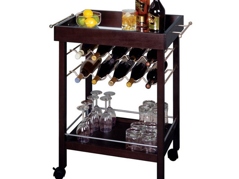 Wooden Bar Cart Plans
