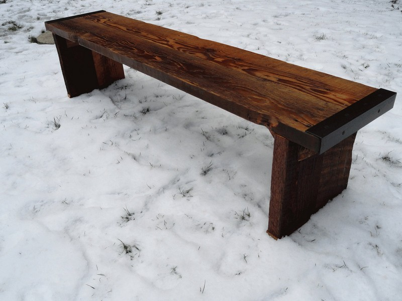 Wooden Bench Legs