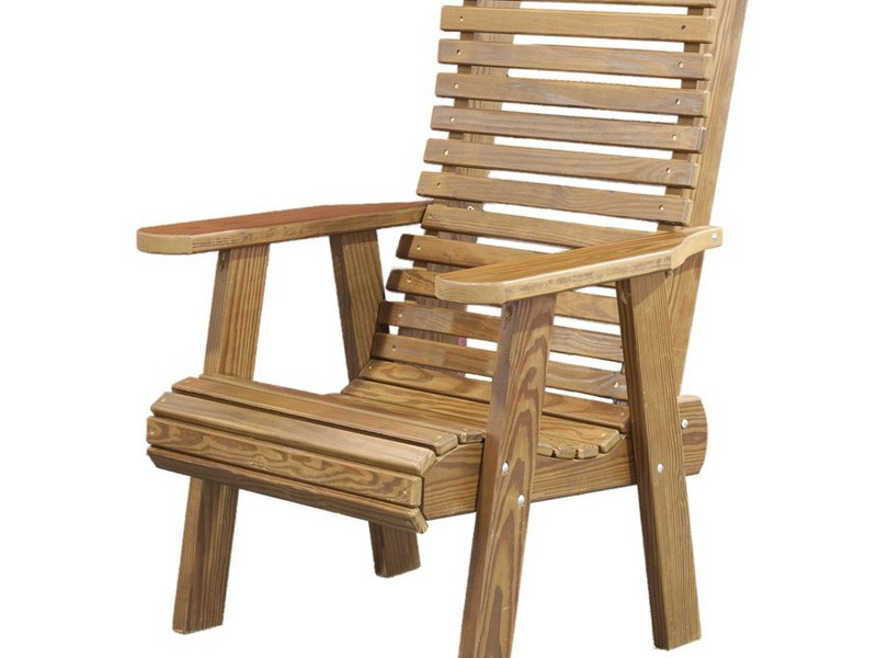 Wooden Deck Chairs With Arms