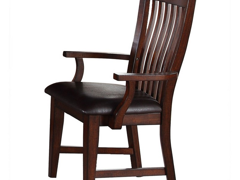 Wooden Dining Chairs With Arms