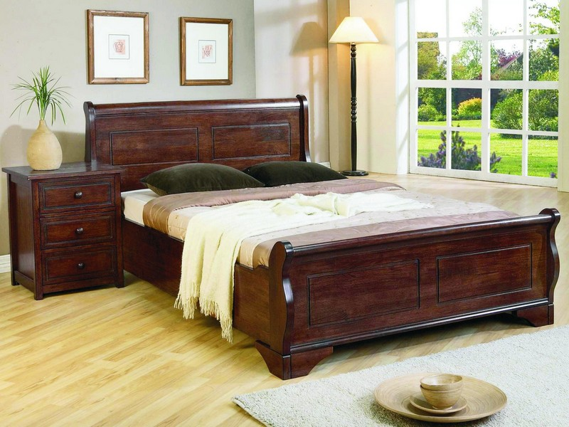Wooden King Size Bed Frame Singapore