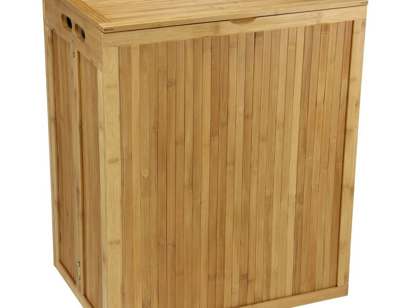 Wooden Laundry Hamper