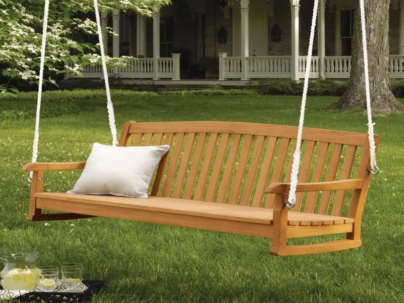 Wooden Porch Swings