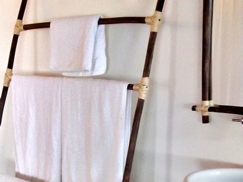 Wooden Towel Stands For Bathrooms