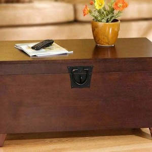 Wooden Trunk Coffee Table