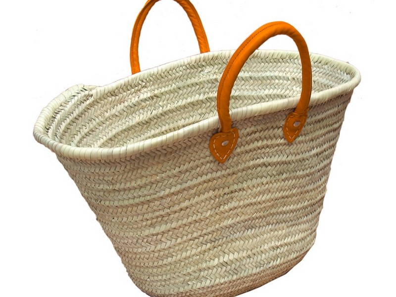 Woven Baskets With Handles
