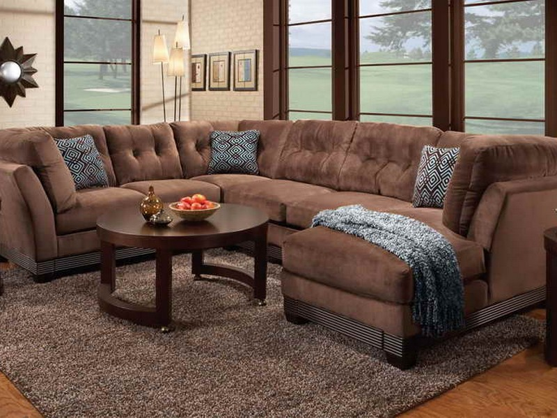 Wrap Around Couch With Recliner