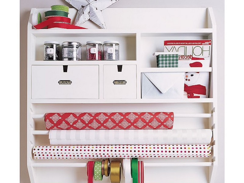 Wrapping Paper Station