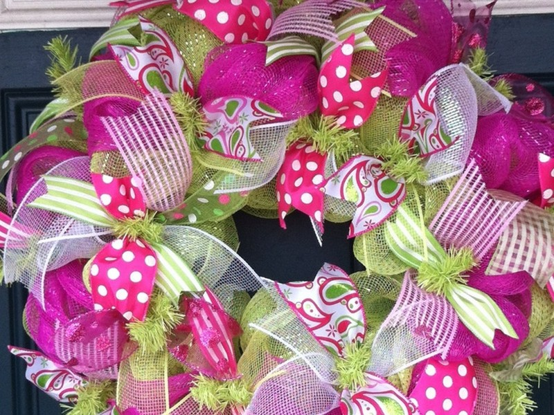 Wreath Making Ideas For Summer