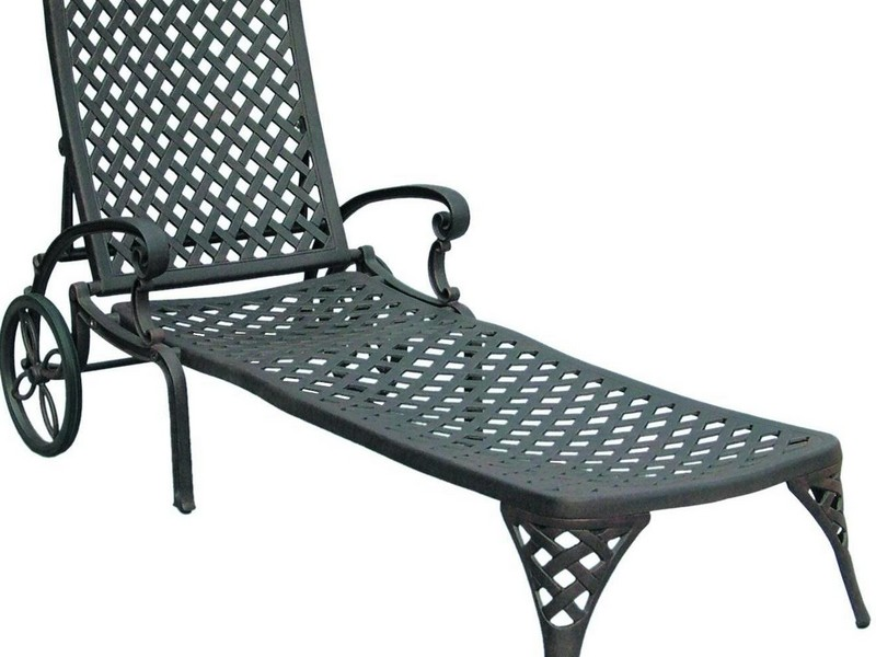 Wrought Iron Chaise Lounge Cushions
