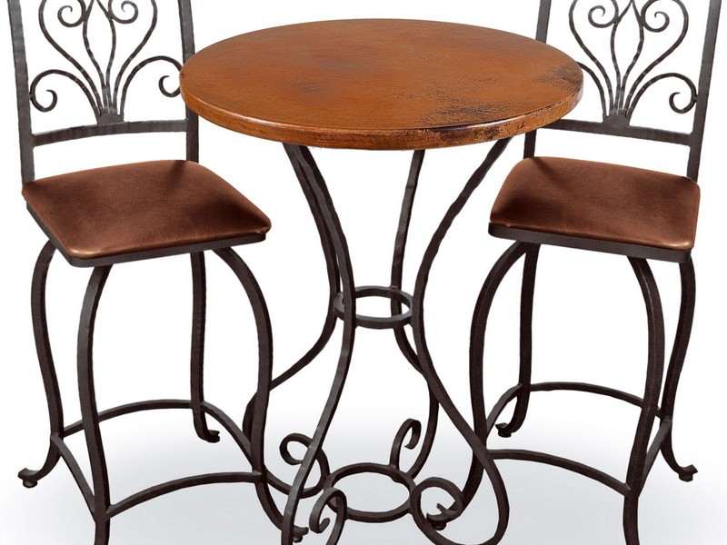 Wrought Iron Counter Height Bar Stools