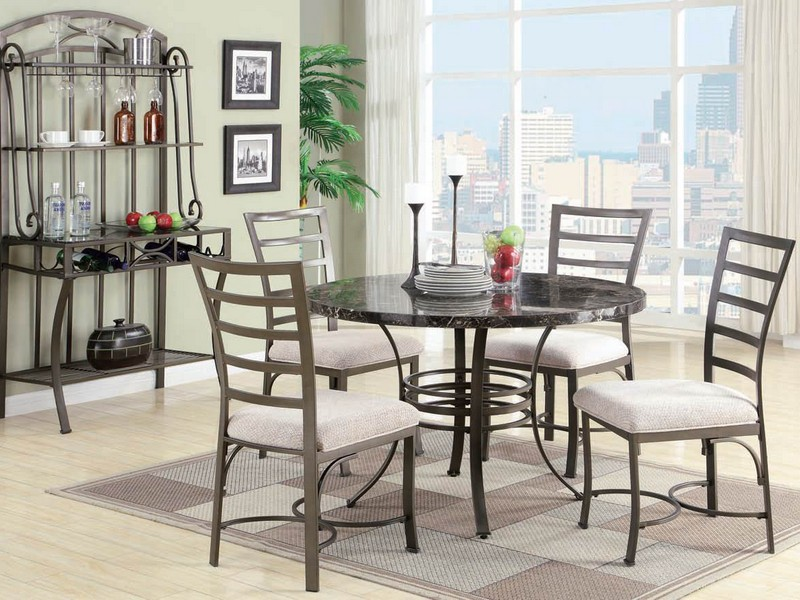 Wrought Iron Kitchen Table Sets