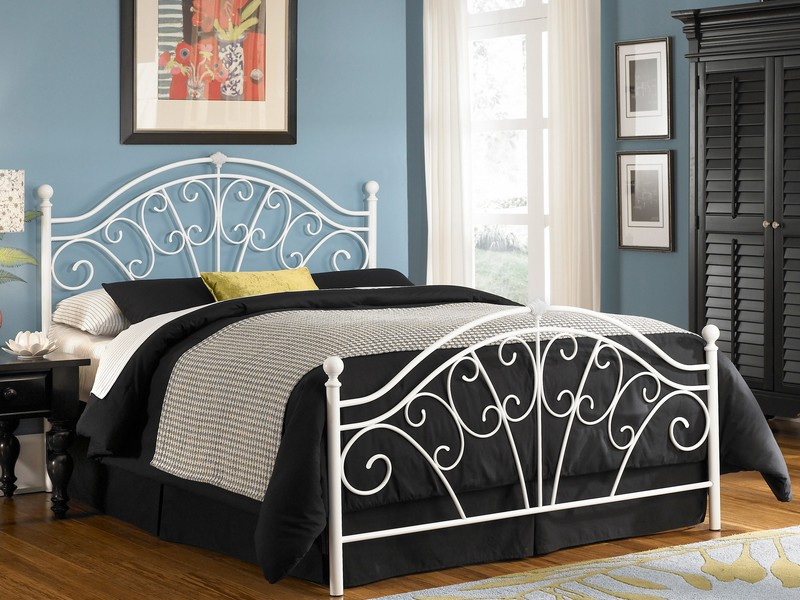 Wrought Iron Queen Headboard