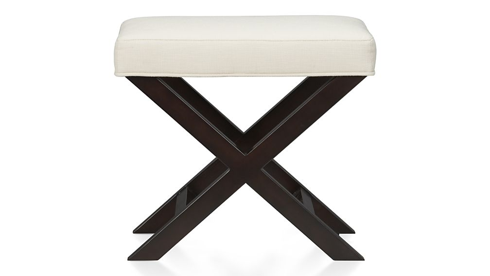 X Base Bench Vanity Stool