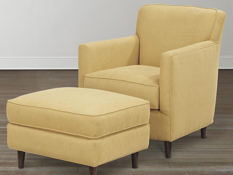 Yellow Accent Chair With Arms
