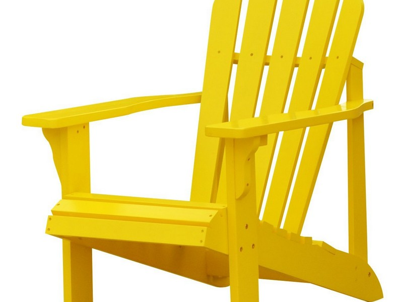 Yellow Adirondack Chair Plastic