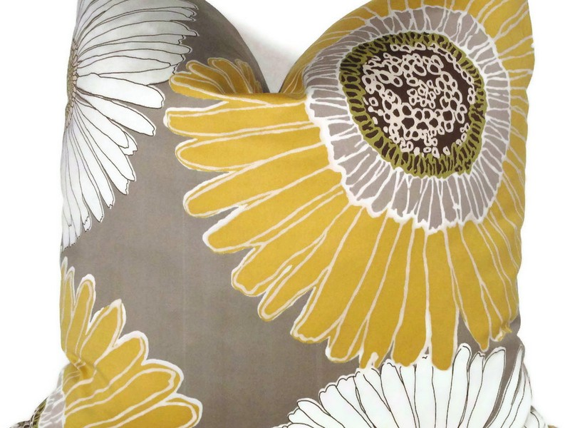 Yellow And Grey Pillows Target