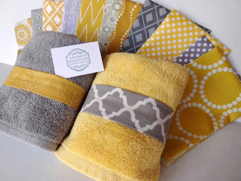 Yellow Bath Rugs And Towels
