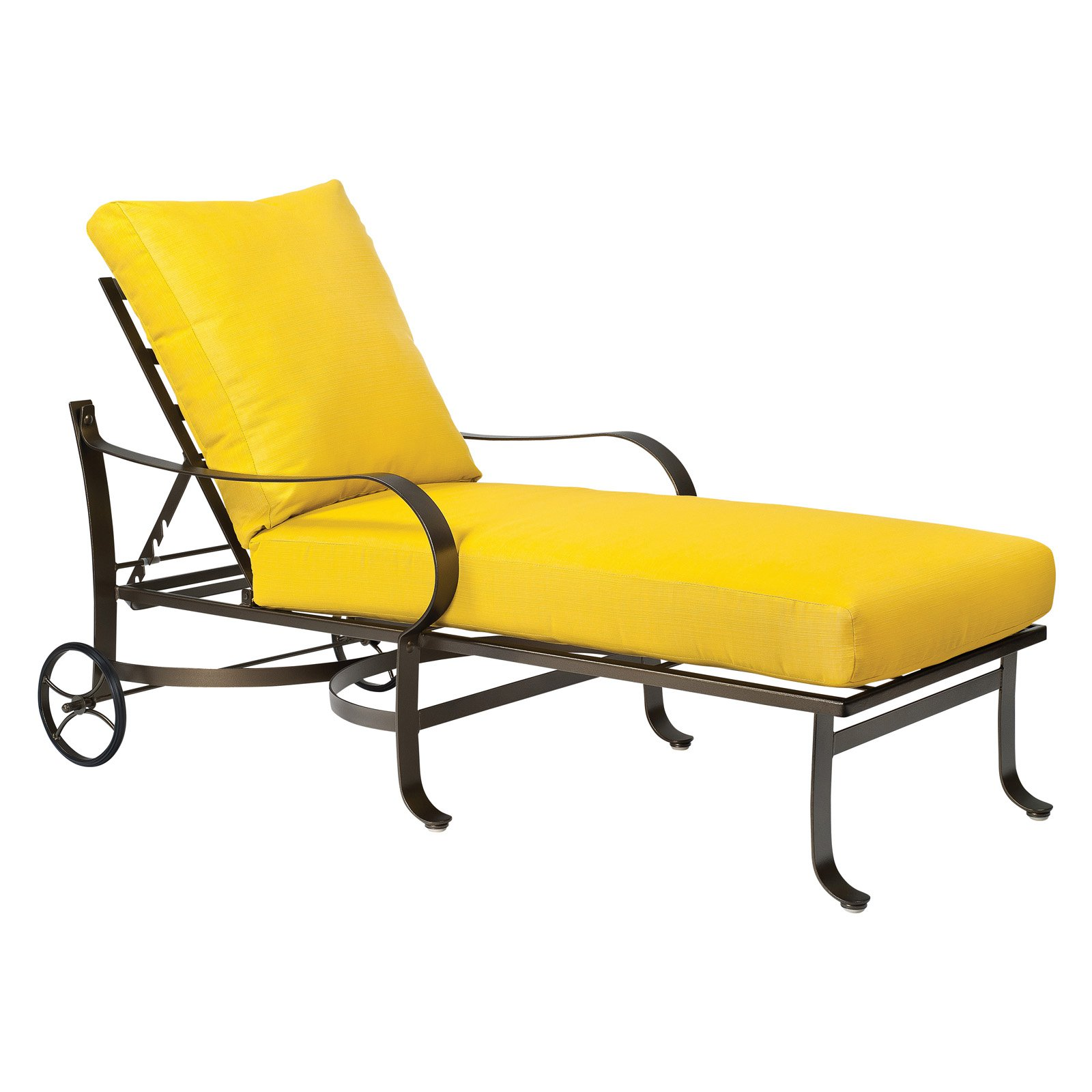 Yellow Chaise Lounge Cushions