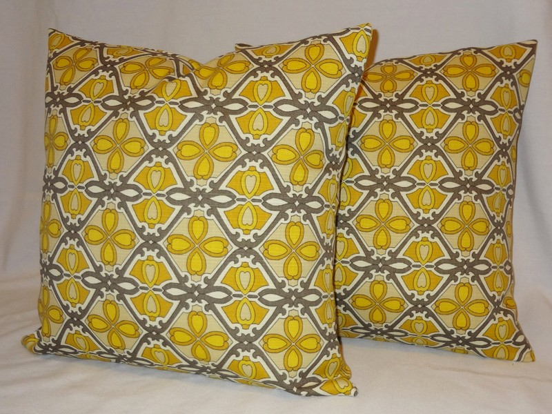 Yellow Outdoor Cushions