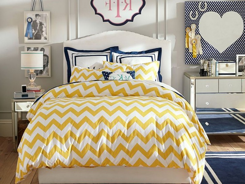 Yellow Patterned Duvet Covers