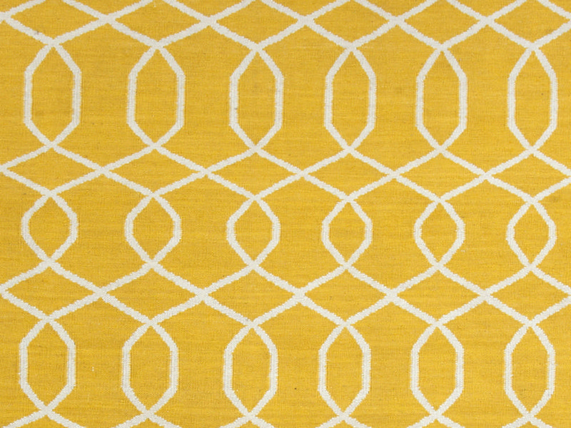 Yellow Runner Rug