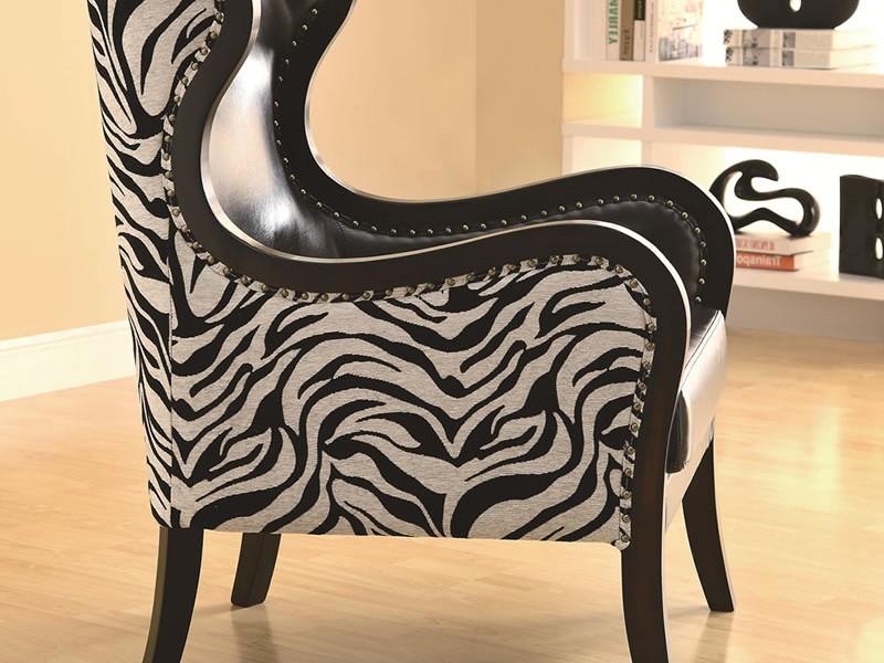 Zebra Bar Stools Modern Family