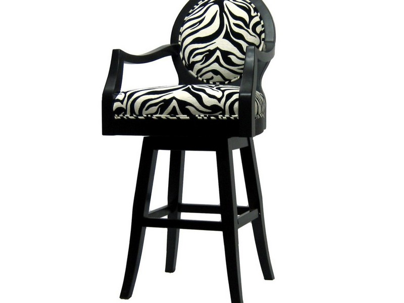 Zebra Bar Stools