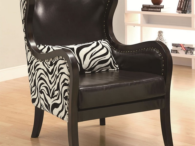 Zebra Print Accent Chair Ashley Furniture