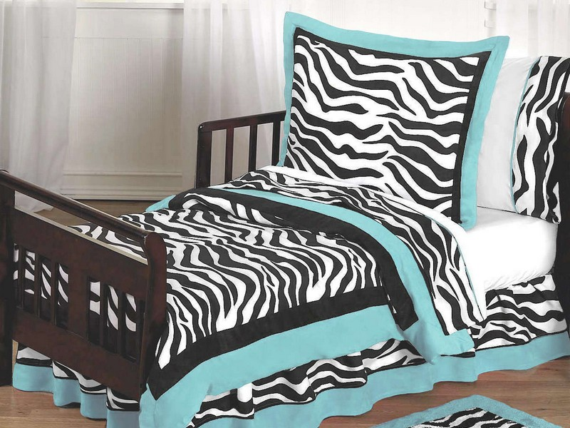 Zebra Print Bed Pillows