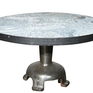 Zinc Coffee Table Outdoor