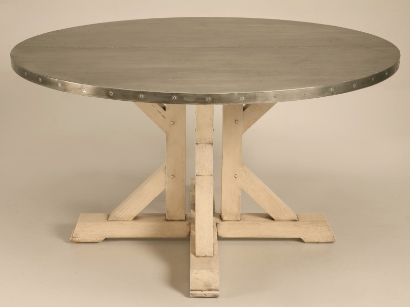 Zinc Table Tops Care